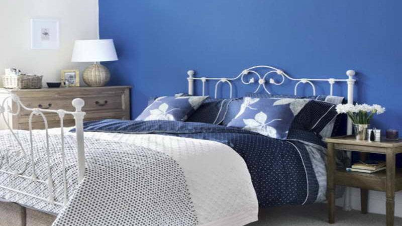 Simple Blue Bedroom Schemes Ideas