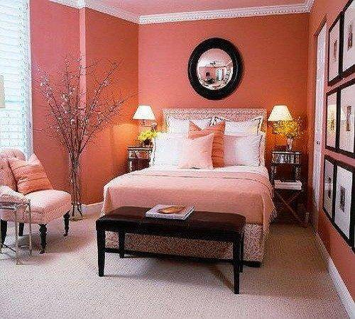 Bedroom Designs Chic Ideas Young Women Orange