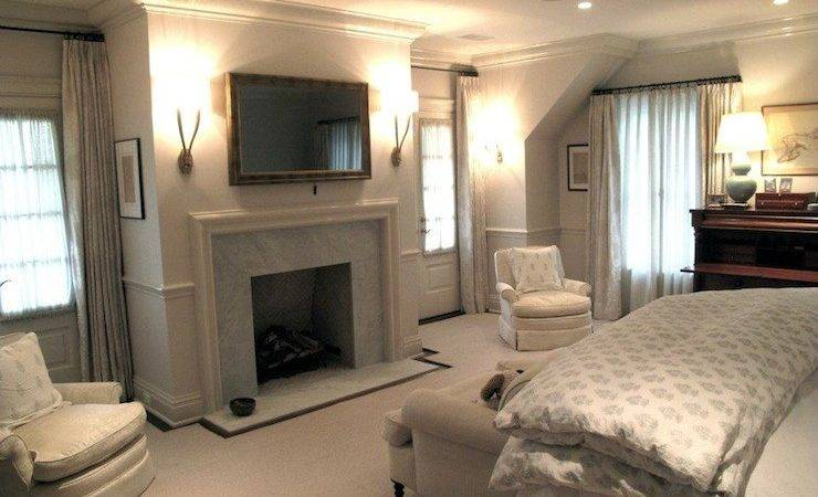 Bedroom Fireplace Traditional Jane Green