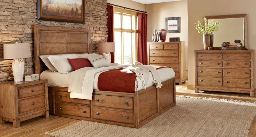 Bedroom Ideas Distressed White Stained Wooden Master Bed
