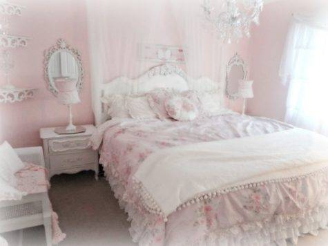 Bedroom Incredible Girl Light Pink Chic