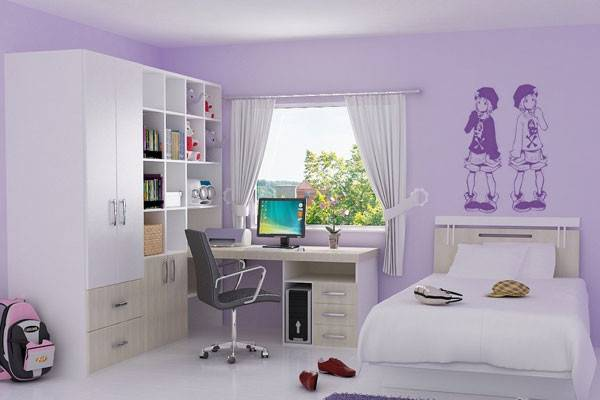 Bedroom Lilac Shade Paint Colors Ideas