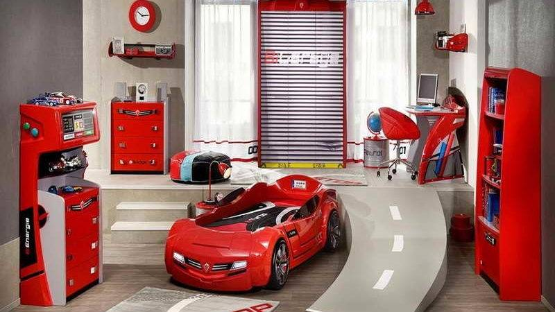 Bedroom Little Boys Room Ideas Cars Theme