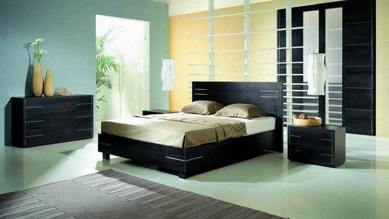 Bedroom Paint Color Ideas Black Furniture Plans Green