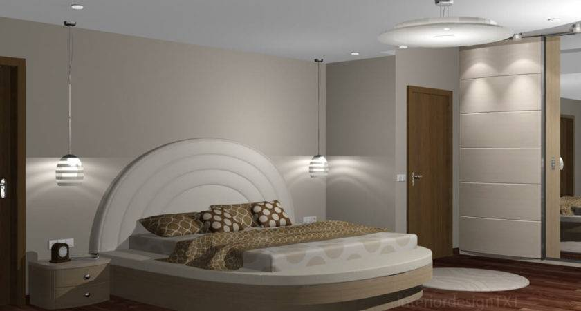 Bedroom Round Shapes Interior Design Txt