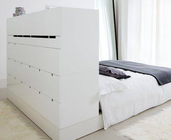 Bedroom Storage Solutions Small Spaces Decoration