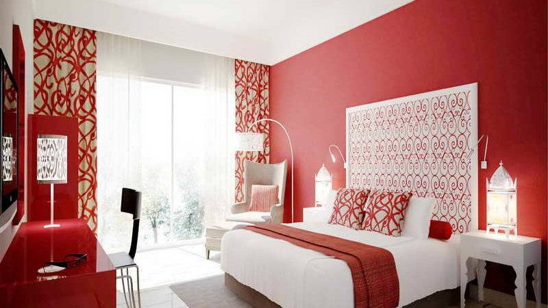 Bedroom Tips Build Bed Room Fun Ideas Red Wall