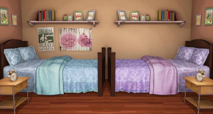 Bedroom Unique Shared Ideas Girls