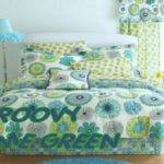 Bedspread Ideas Teal Lime Green Bedding