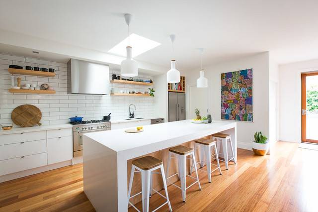 Bentleigh Californian Bungalow Scandinavian Kitchen
