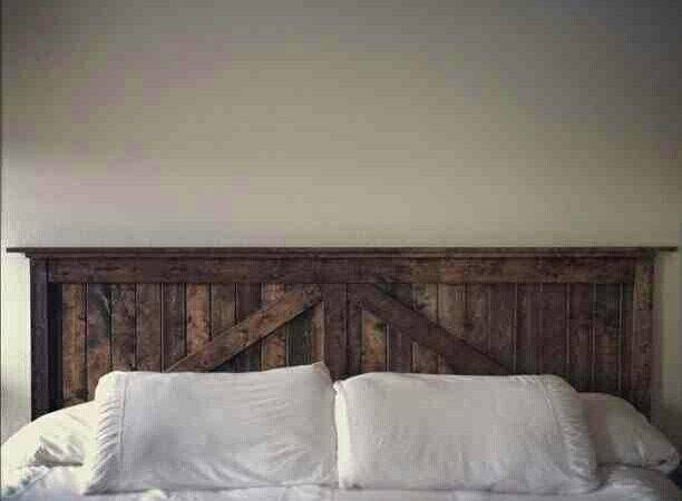 Best Barn Door Headboards Ideas Pinterest Pallet