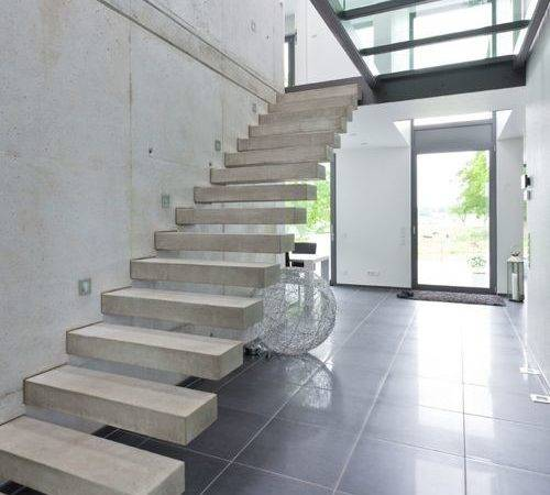 Best Concrete Floating Staircase Design Ideas Remodel