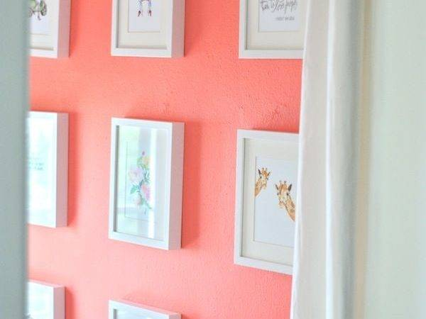 Best Coral Paint Color Bedroom Home Interior Designing