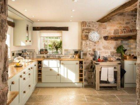 Best Cottage Kitchens Pinterest Country