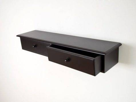 Best Floating Shelf Drawer Ideas Pinterest