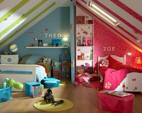 Best Girl Boy Shared Bedroom Design Ideas Decoholic