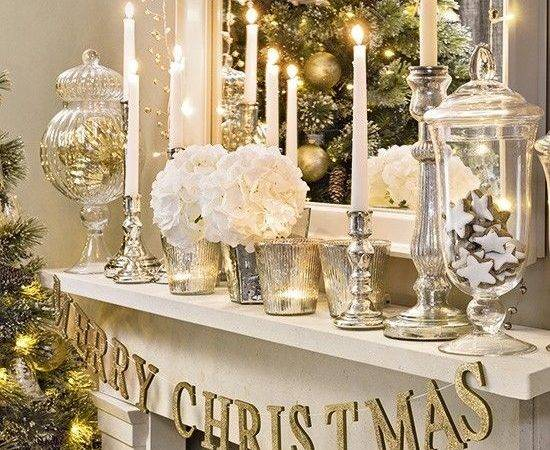 Best Gold Christmas Decorations Ideas Pinterest