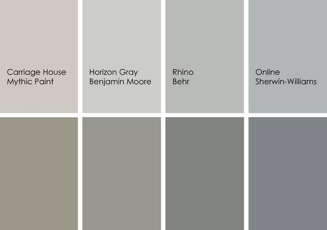 Best Gray Paint Colors Designers Most Beautiful