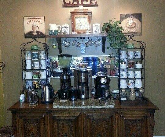 Best Home Coffee Bars Ideas Pinterest