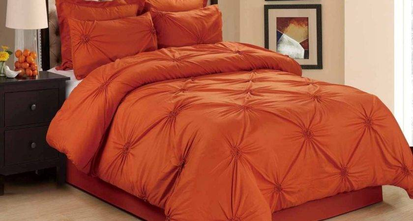 Best Orange Comforter Sets Lavish Home Branches