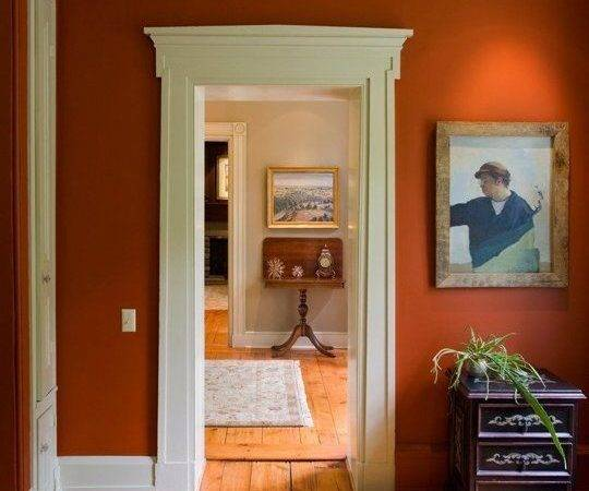 Best Orange Walls Ideas Pinterest Rooms