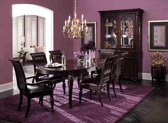 Best Purple Dining Rooms Ideas Pinterest