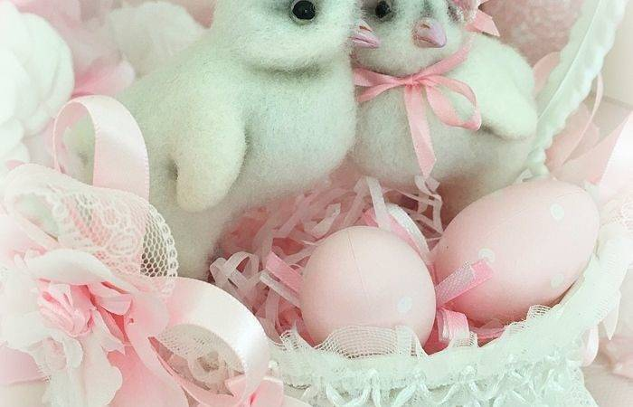 Best Shabby Chic Pink Easter Pinterest