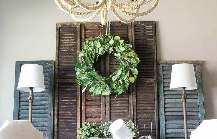 Best Shutter Wall Ideas Pinterest Shabby Chic