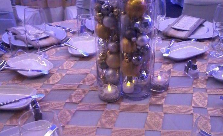 Best Silver Gold Christmas Party Decor