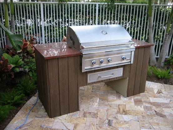Best Small Outdoor Kitchens Ideas Pinterest
