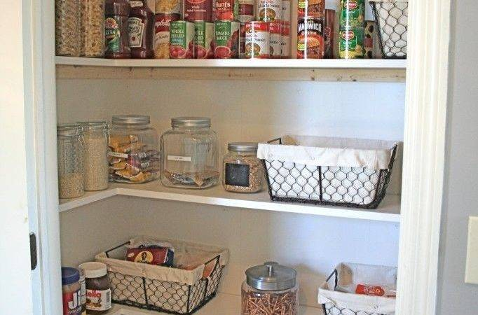 Best Small Pantry Closet Ideas Pinterest