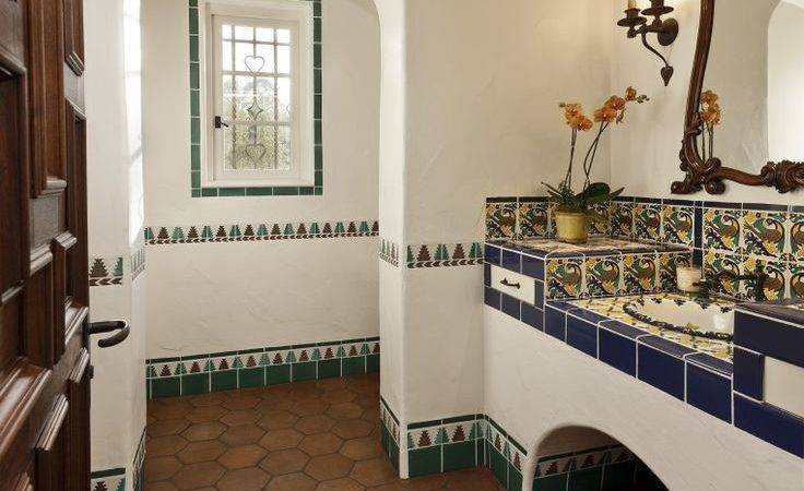Best Spanish Bathroom Ideas Pinterest