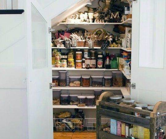 Best Under Stairs Pantry Ideas Pinterest