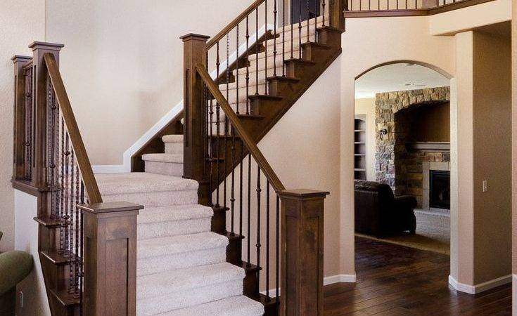 Best Wood Stair Railings Ideas Pinterest