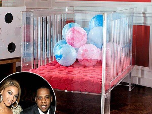 Beyonce Buys Lucite Crib Her Baby Blue