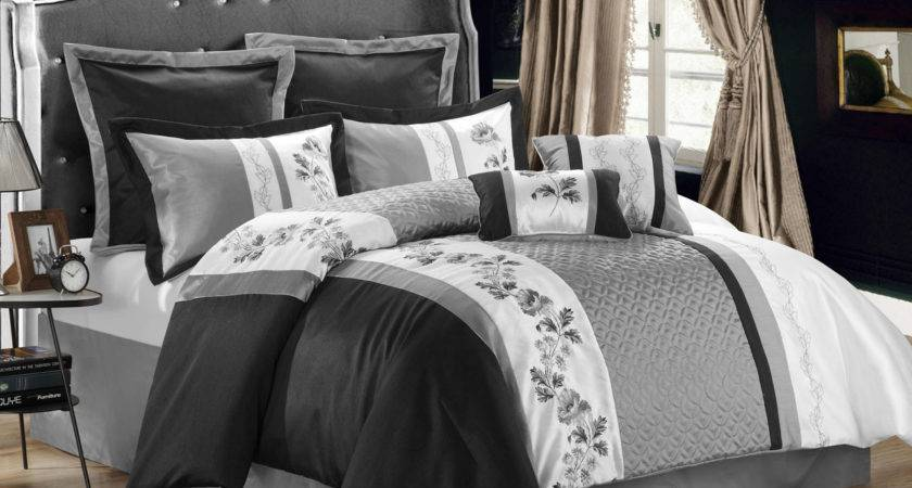 Black Comforter Sets Luxurious