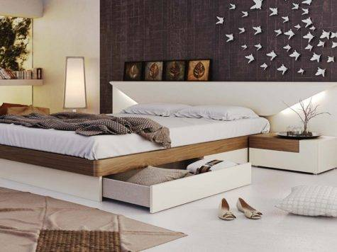Black Modern Italian Master Bedroom Furniture