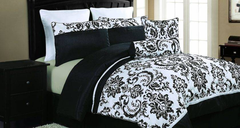 Black White Bedding Sets Make Your Room Look