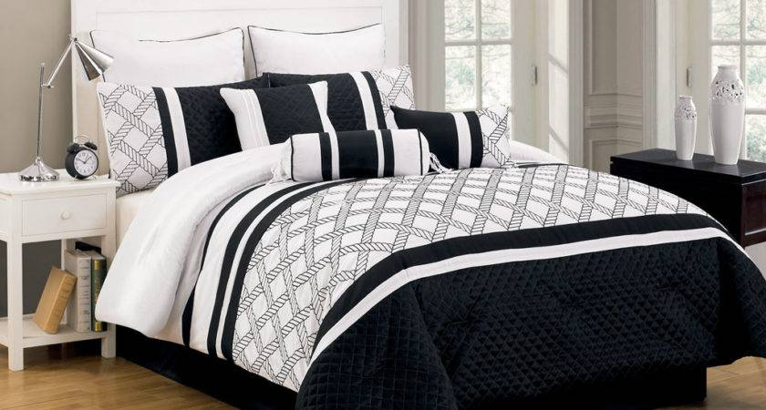 Black White Comforter Sets Justbats Coupons