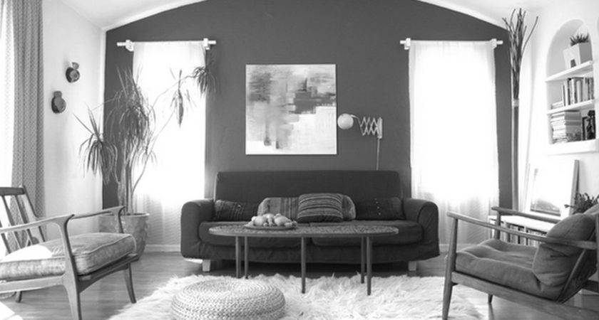 Black White Furniture Living Room Clipgoo