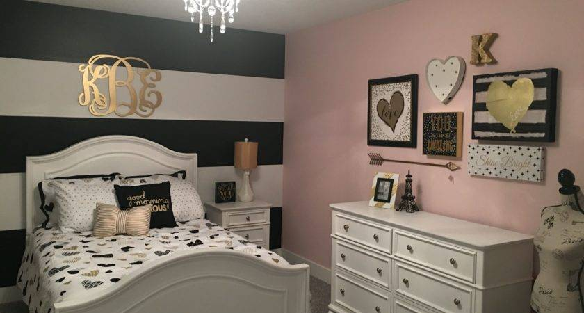 Black White Gold Bedroom Ideas Womenmisbehavin