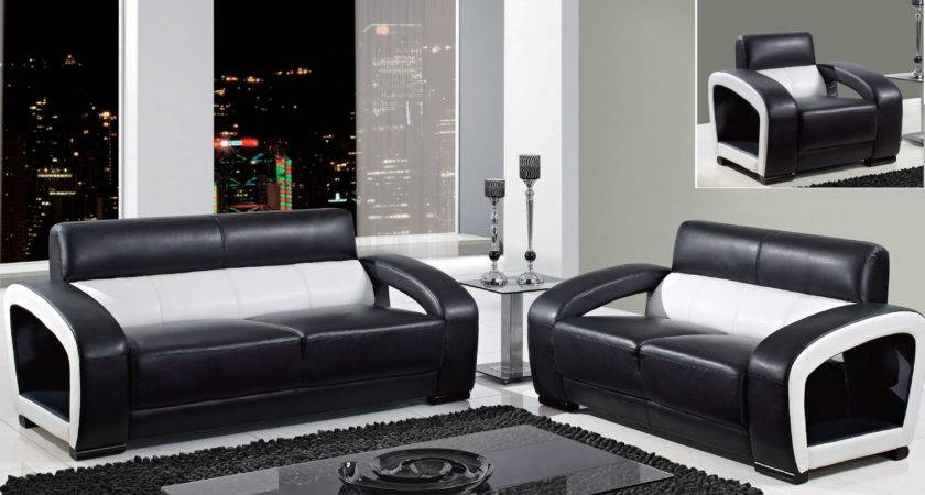 Black White Living Room Furniture