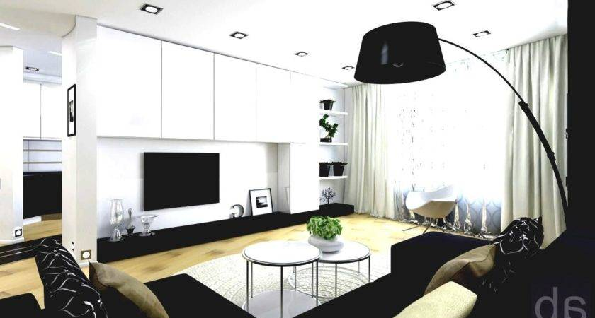 Black White Modern Living Room Furniture