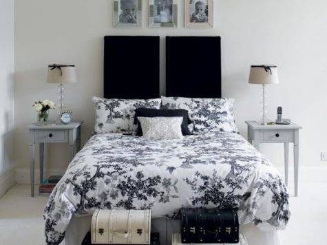 Black White Room Decor Fear Protection Purity