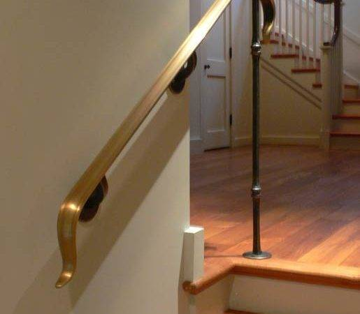 Blacksmith Custom Designed Stair Railing Hand Forged