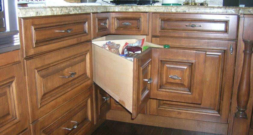 Blind Corner Cabinet Solutions Storage Ideas