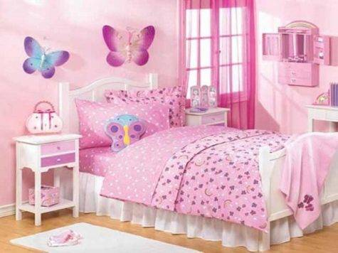 Bloombety Butterfly Theme Bedroom Ideas Teenage