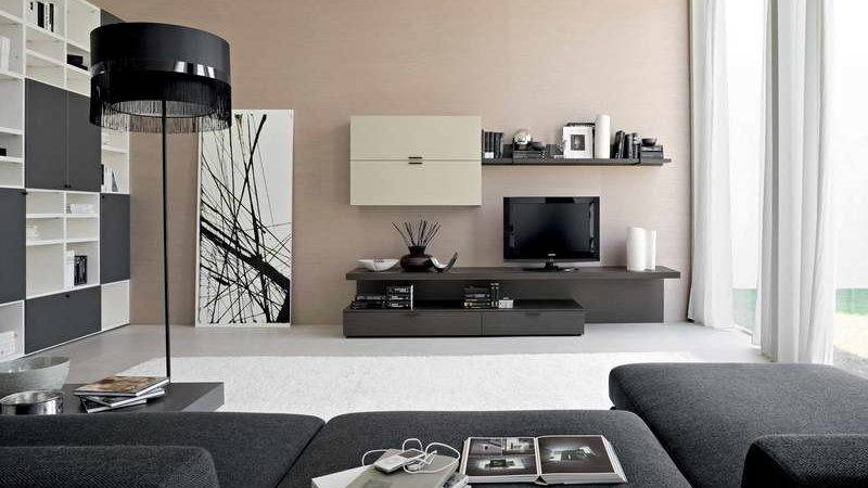 Bloombety Contemporary Living Room Ideas Creamy