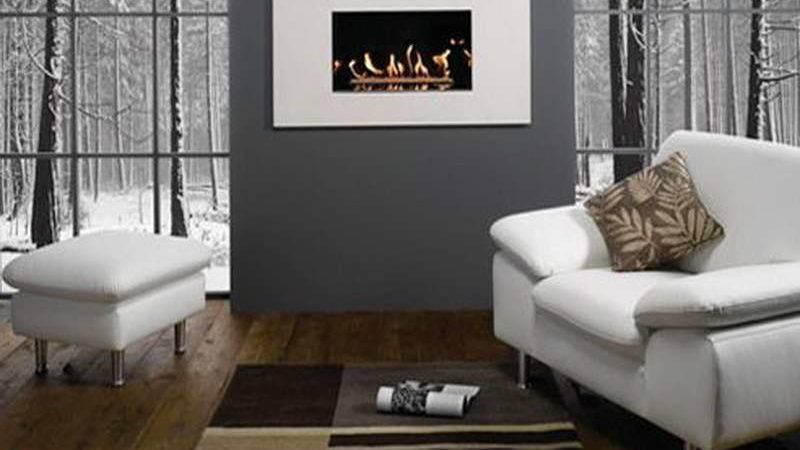 Bloombety Contemporary Living Room Ideas Grey Wall