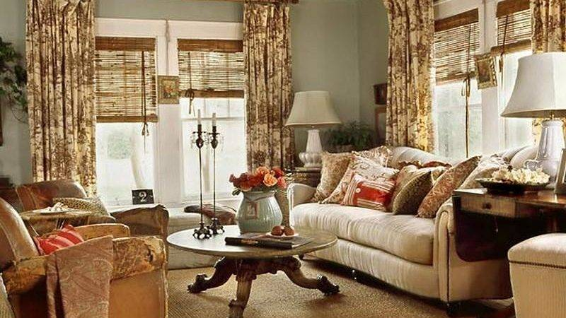 Bloombety Cottage Style Living Room Decorating Ideas